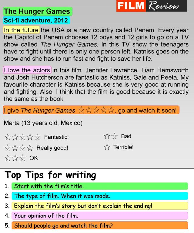 Film review  LearnEnglish Teens - British Council