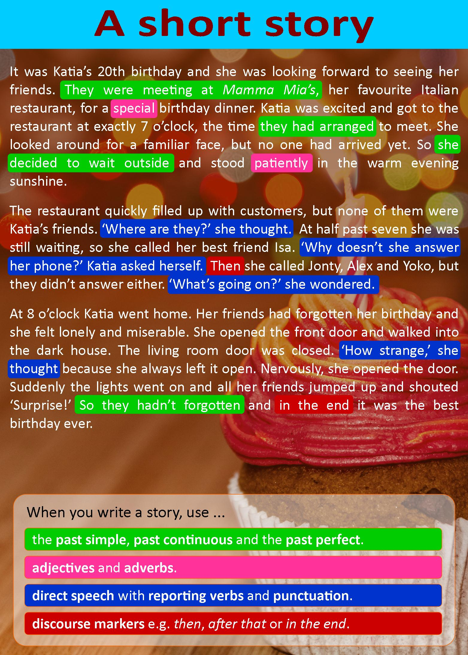 A Short Story Learnenglish Teens