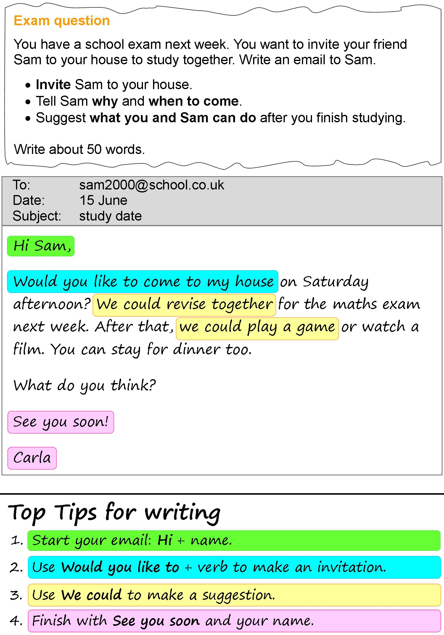 Study Date Email Learnenglish Teens