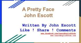 John Escott Audio Book 'A Pretty Face' With Urdu Translation