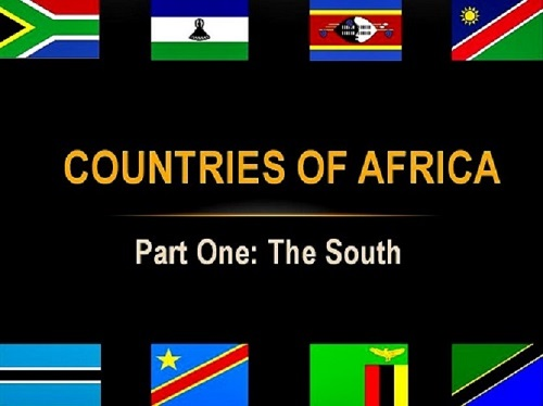 The countries of Africa: Part One (SADC)