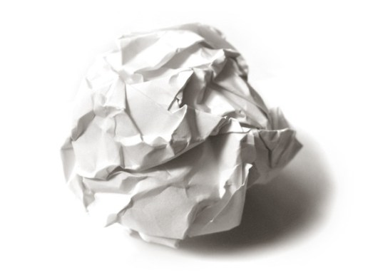 The Decision (Short Story): Crumpled Paper