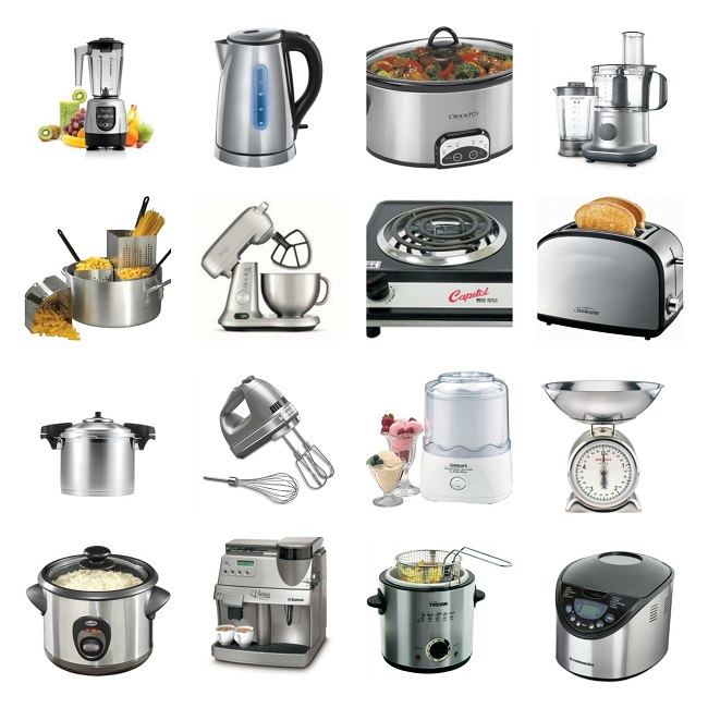 Vocabulary To Describe Small Kitchen Appliances And Equipment (Learn  English With Africa Worksheets)