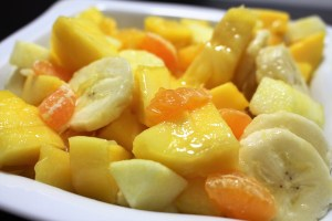 Tropical Fruit Salad 1, Learn English With Africa, December 2016-English Worksheets