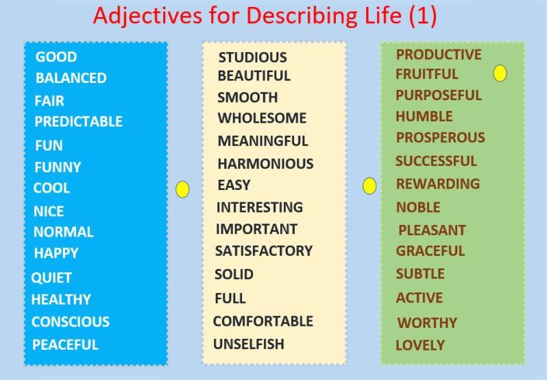 Vocabulary for describing life: Adjectives, beautiful PDF ... on english worksheets for teachers, esl for beginners, animals for beginners, vocabulary for beginners, writing for beginners, game for beginners, criss cross for beginners, english worksheets for adults, coloring pages for beginners, english worksheets for intermediate,