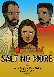 Salt No More Book Cover, Learn English With Africa, August 2017-African Novels