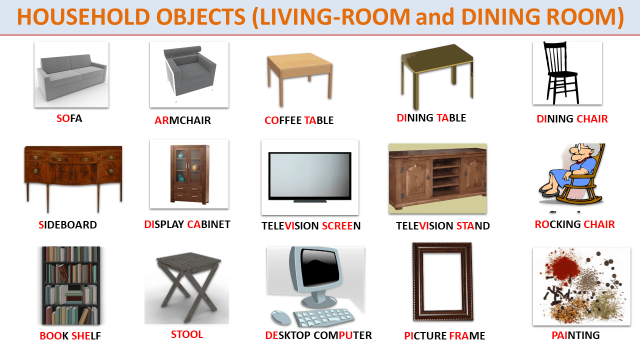 Short Story (Level A9-B9-B9): THINGS (with Objects Vocabulary
