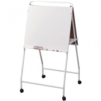 Rolling DoubleSided Easel Dry Erase Board  Learner Supply