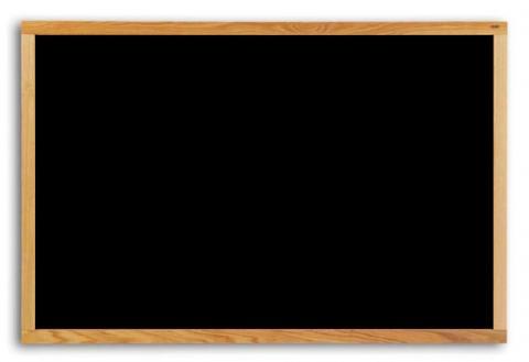 economy wood framed chalkboard