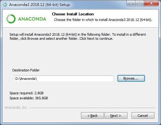 Anaconda安裝說明