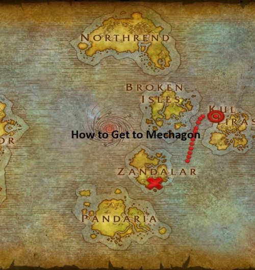 How to Get to Mechagon