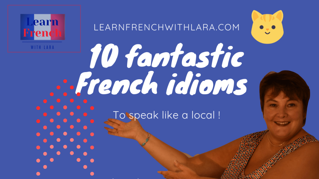 French idioms in English language
