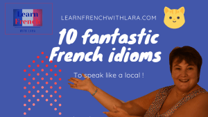 French idioms in English