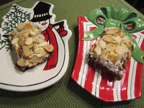 Almond Joy Magic Cookie Bars…A Slightly Different Blast from
