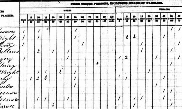 Digging Details from Pre-1850 U.S. Census Records