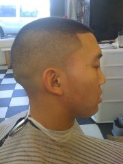 5 shadow fade haircut