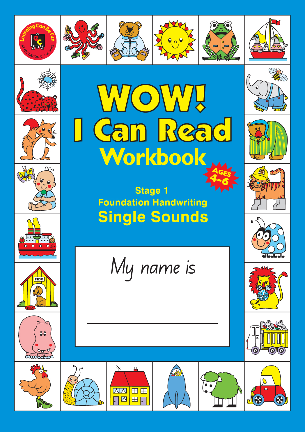 Wow I Can Read Writing Workbook Stage 1 Foundation