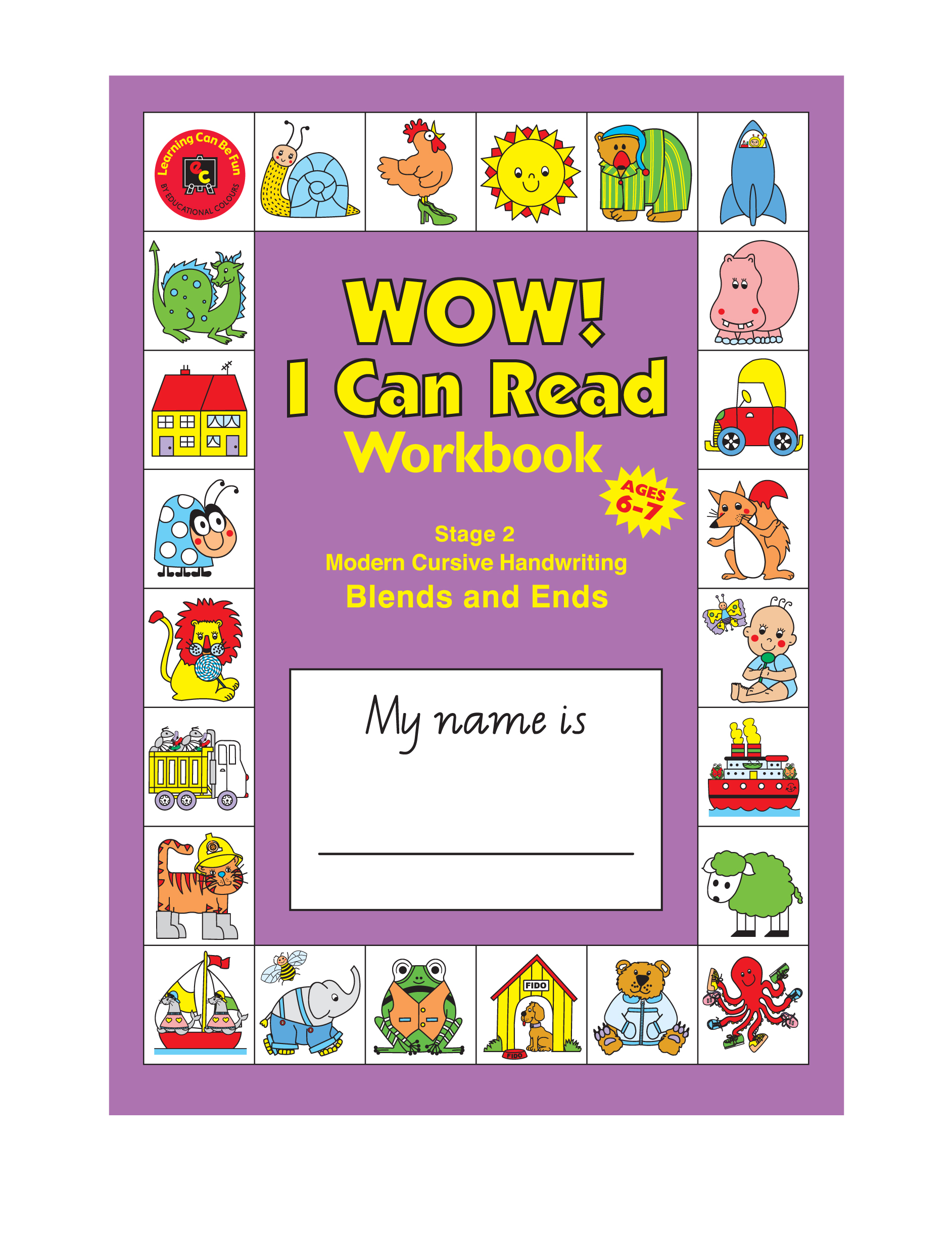 Wow I Can Read Writing Workbook Stage 2 Blends And Ends