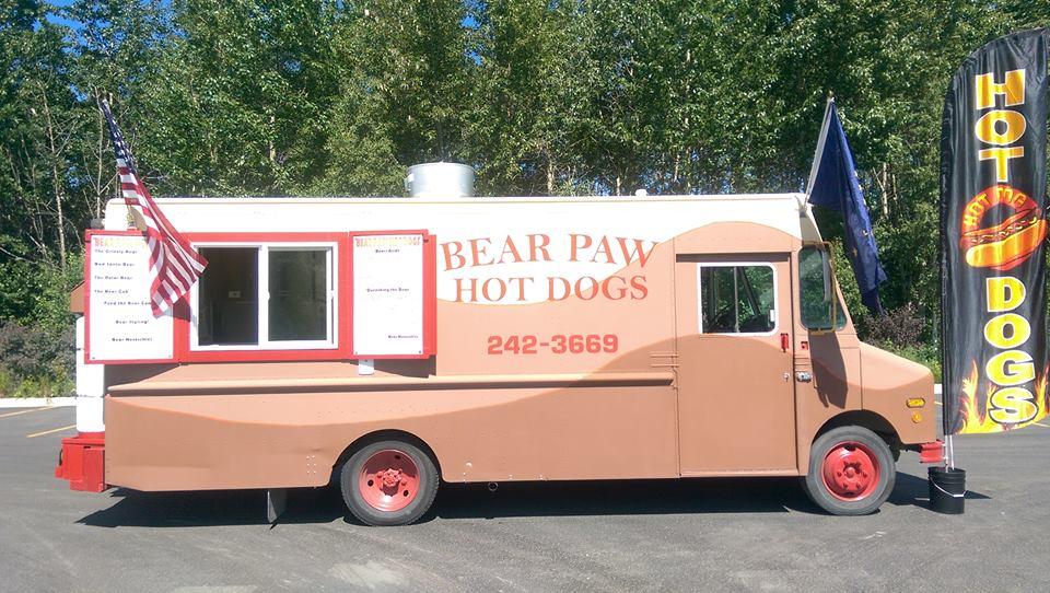 Bear Paw Hot Dog Truck, Alaska