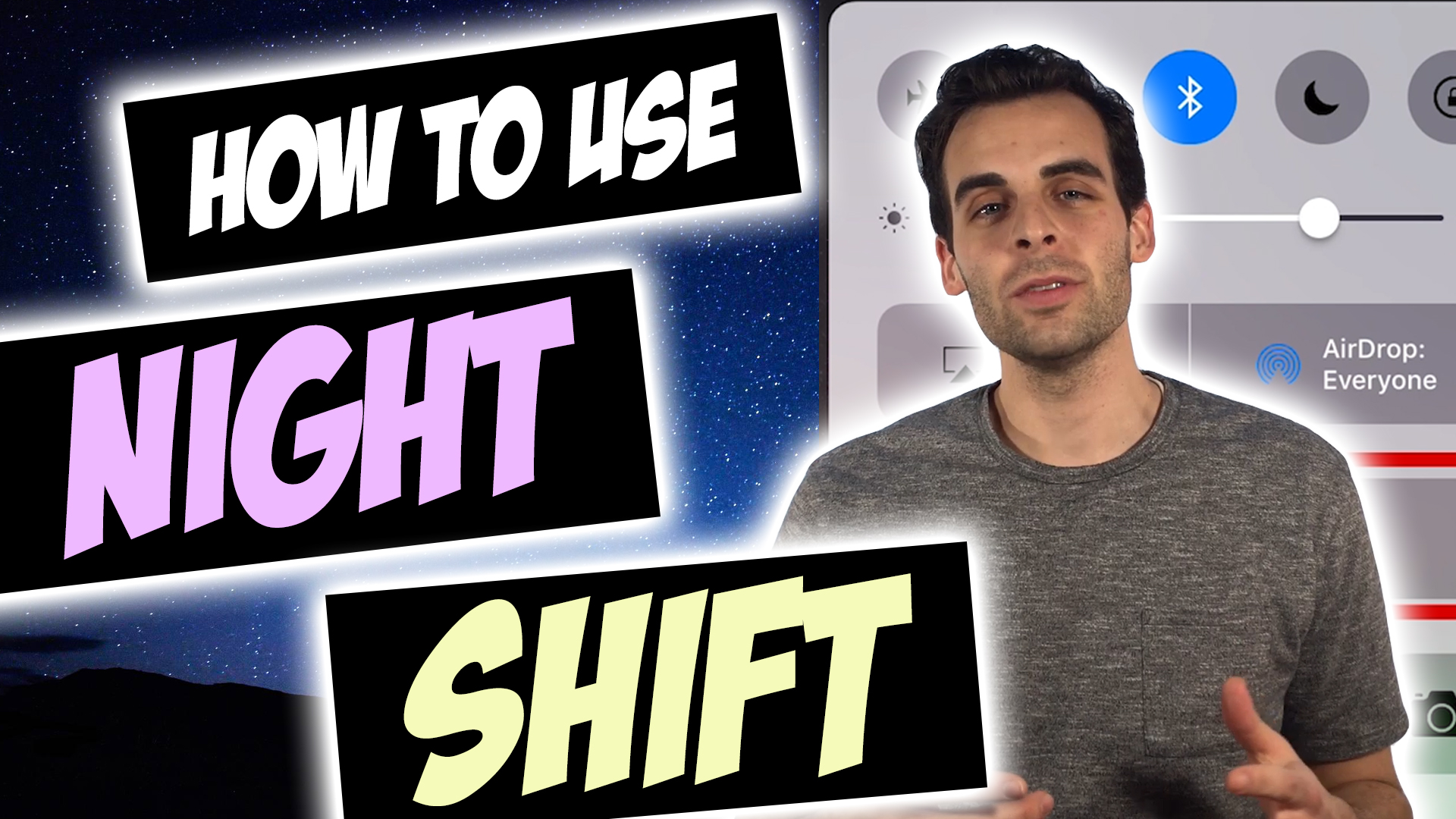 How to Change Blue Light Settings Using Night Shift