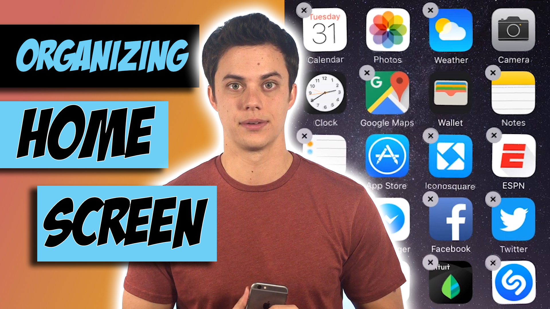 How to Organize and Delete Apps