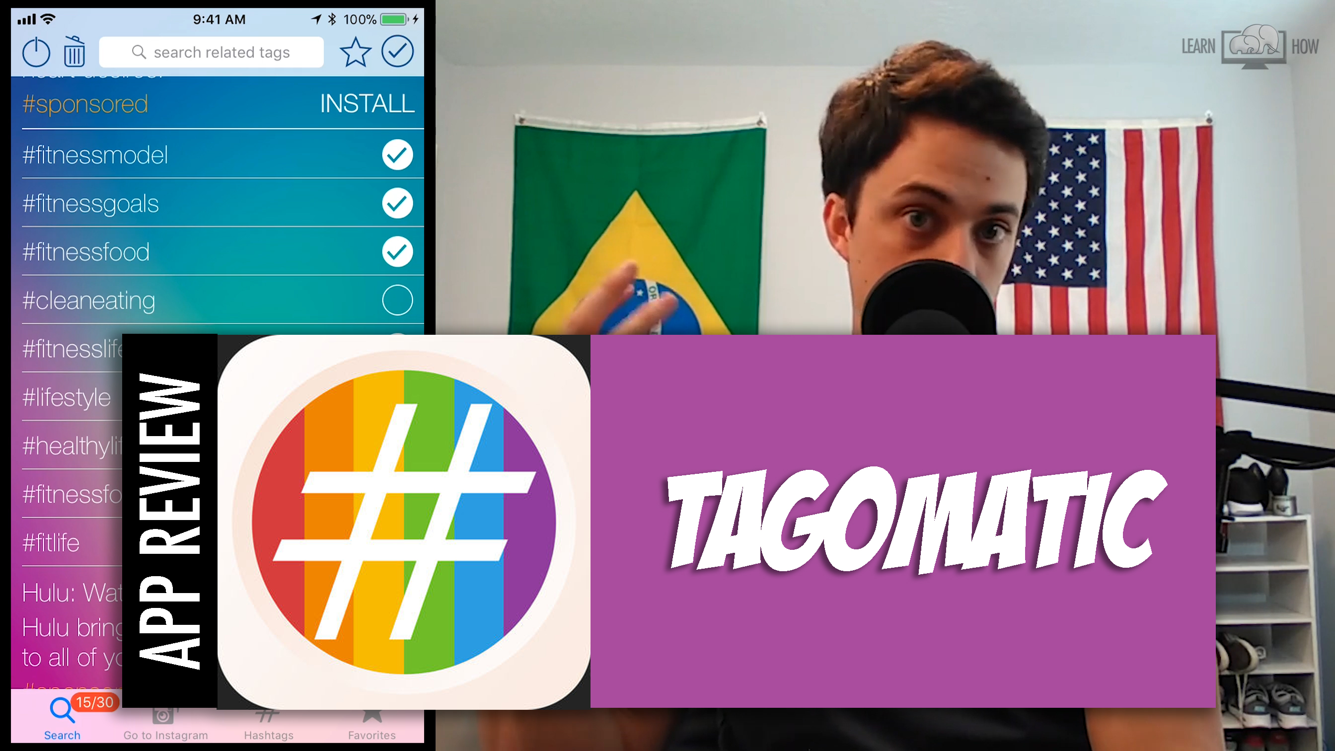 Tagomatic – Bulk Add Popular Hashtags to Your Instagram Posts