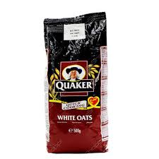 Quaker Quick Cooking White Oats 500g Sachet
