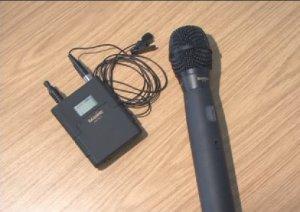 Sabine radio mics