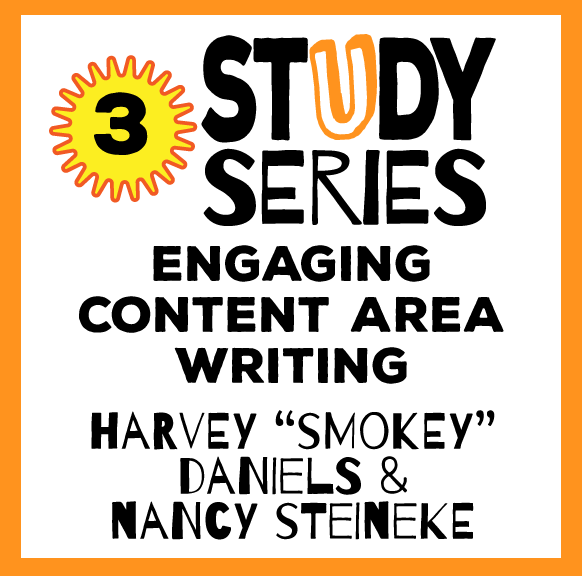 Study Series Session: Engaging Content Area Writing