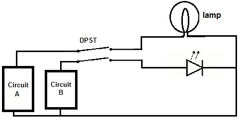 Double Pole Single Throw (DPST) Switch