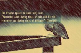 Hadith: Times of difficulty
