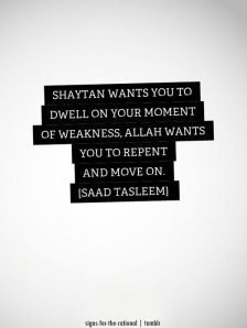 Wisdom: Shaytan wants