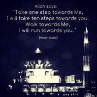 Hadith: Towards Allah