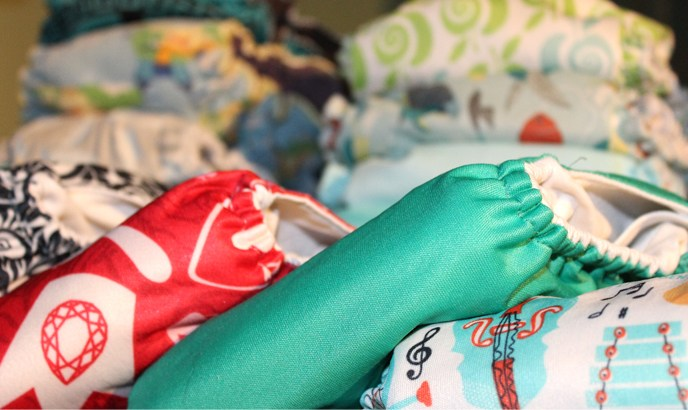 Cloth diaper laundry is very manageable as long as you keep your wash routine simple. But everybody has to find what works for them.