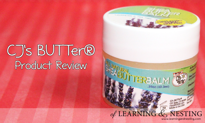 CJ's BUTTer® Product Review
