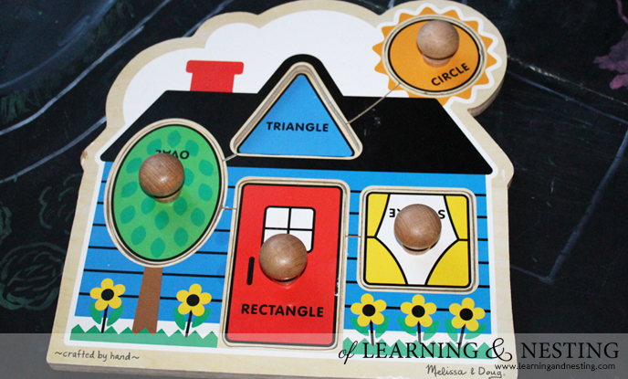 2015 Toddler Gift Guide - Melissa and Doug First Shapes Puzzle