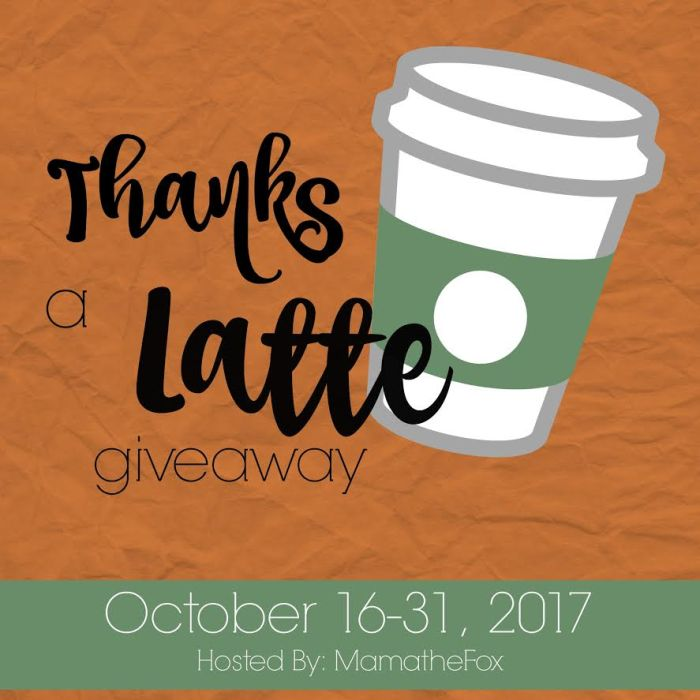 Thanks a Latte Giveaway Hop - Enter to win a tank top from Full Heart Designs!