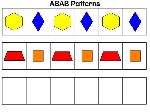 Patterning Activities