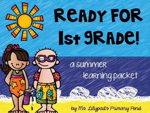 small resolution of Part One: Summer Learning Activities for Rising First Graders (and Summer  Homework for Kindergarten) - Learning at the Primary Pond