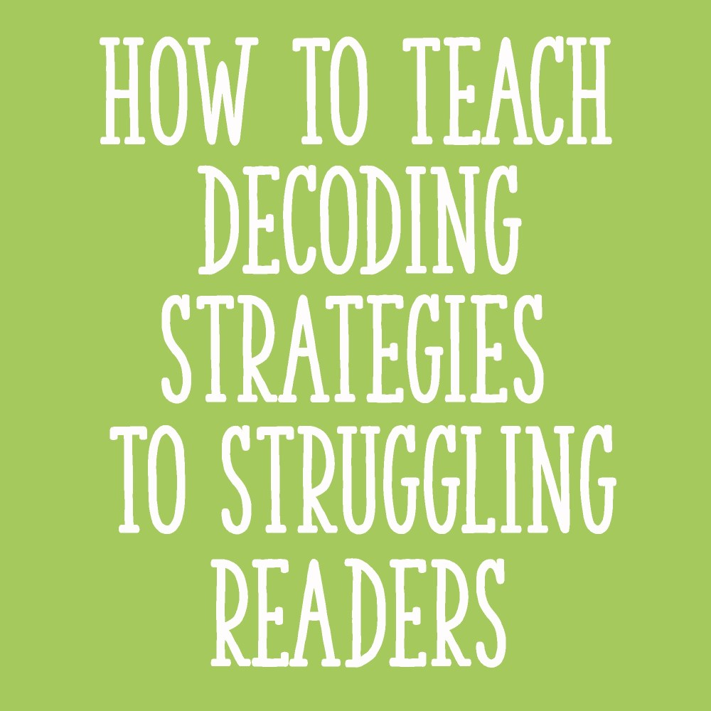 medium resolution of How to Teach Decoding Strategies to Struggling Readers - Learning at the  Primary Pond
