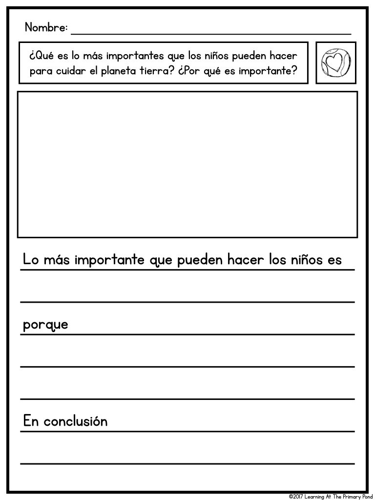 medium resolution of Category: Teaching in Spanish - Learning at the Primary Pond