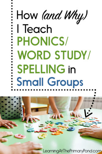 How Do You Spell Pond : spell, Teach, Phonics, Study, Spelling, Small, Groups, Learning, Primary