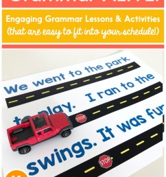 Best Practices for Teaching Grammar in K-2 - Learning at the Primary Pond [ 1024 x 768 Pixel ]