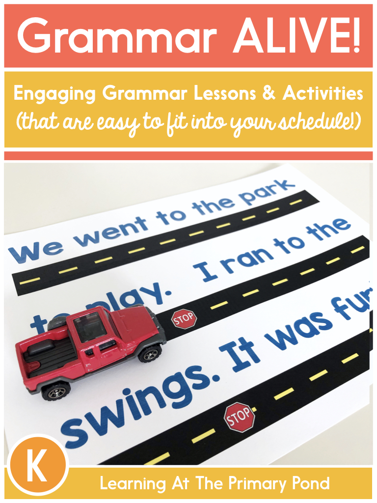 hight resolution of Best Practices for Teaching Grammar in K-2 - Learning at the Primary Pond