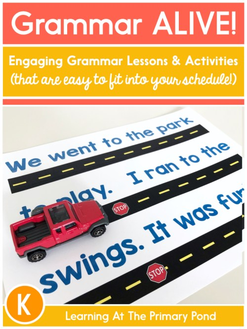 small resolution of Best Practices for Teaching Grammar in K-2 - Learning at the Primary Pond