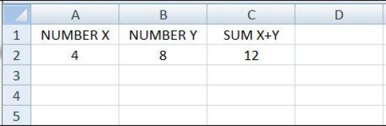 EXCEL3 spreadsheet
