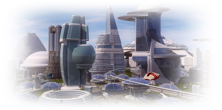 The Exponential Age City