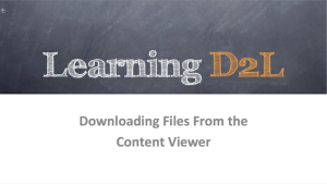 Slide for Downloading Files from the Content Viewer
