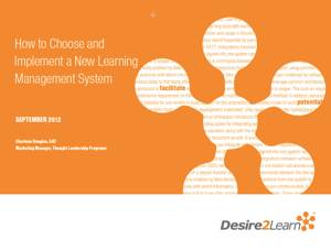 How to Choose and Implement a New Learning Management System Icon
