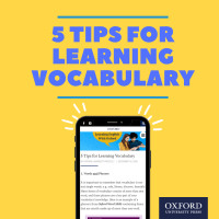 5 Tips for Learning Vocabulary